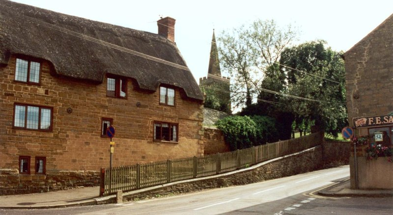 The Stone House, Brixworth Road, Spratton, where the Wadhams family lived in the First World War