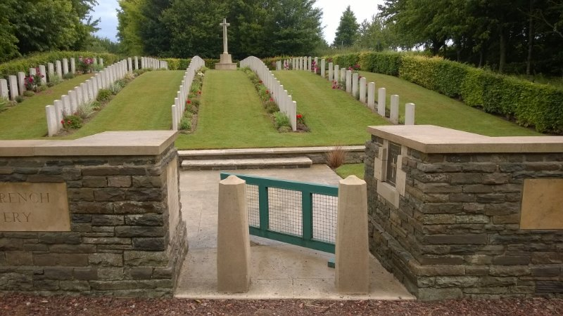 Hibers Trench Cemetery, France