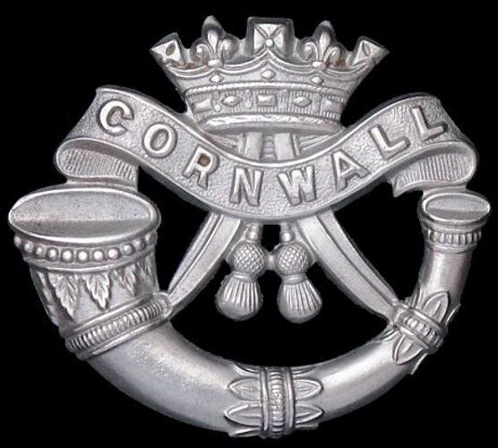 Duke of Cornwall's Light Infantry badge
