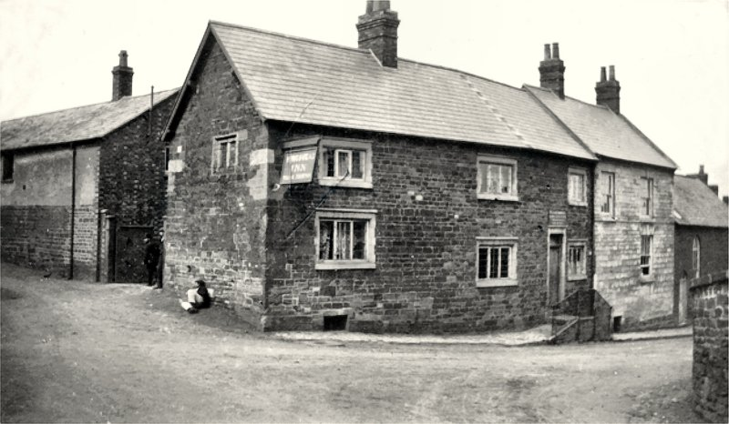 The King's Head, Spratton in 1902