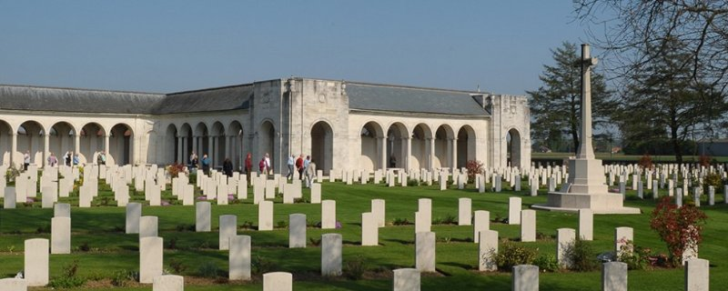 Le Touret Memorial and Cemetery, Pas-de-Calais, France