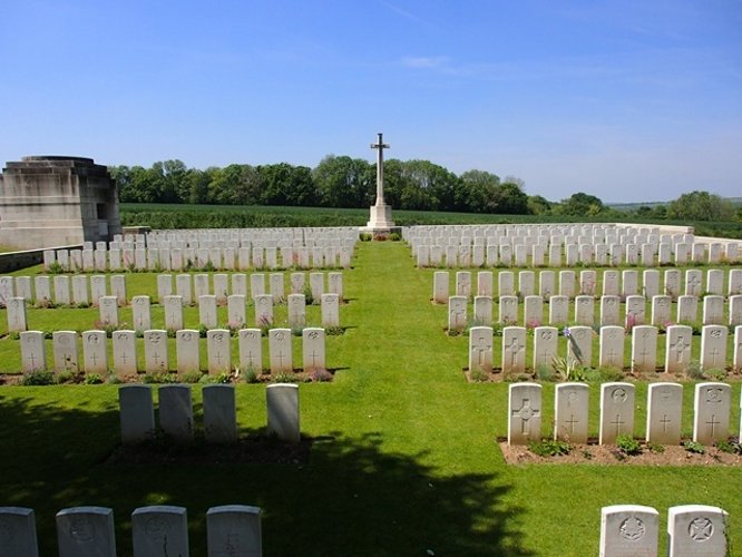 Pernois British Cemetery France