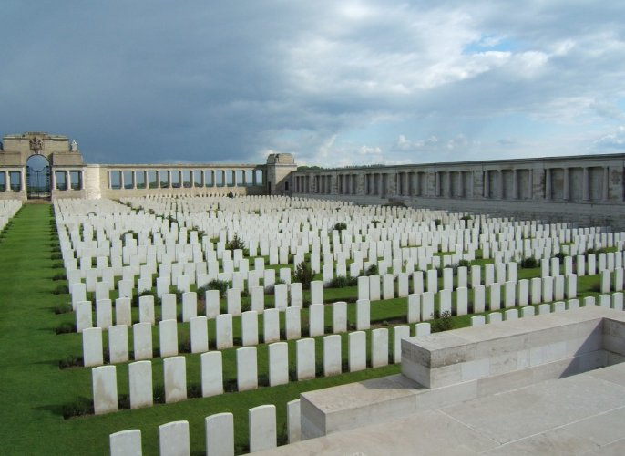 Pozi�res Memorial, Picardie, Somme, France