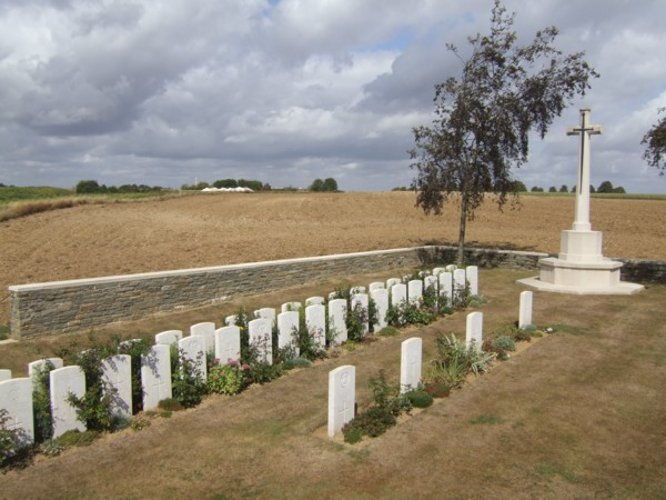 Redan Ridge No 2 Beaumont Hamel Cemetery