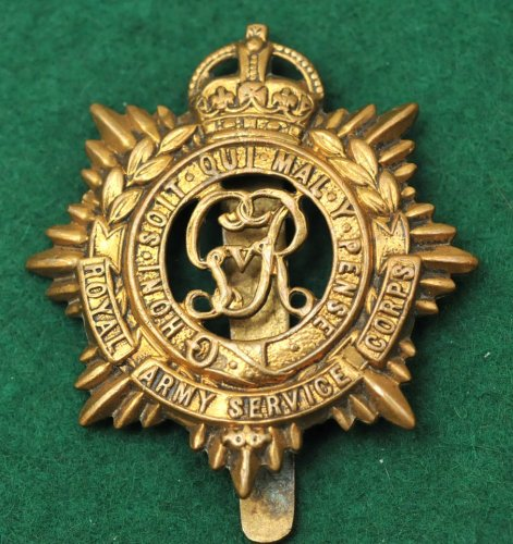 Royal Army Service Corps badge