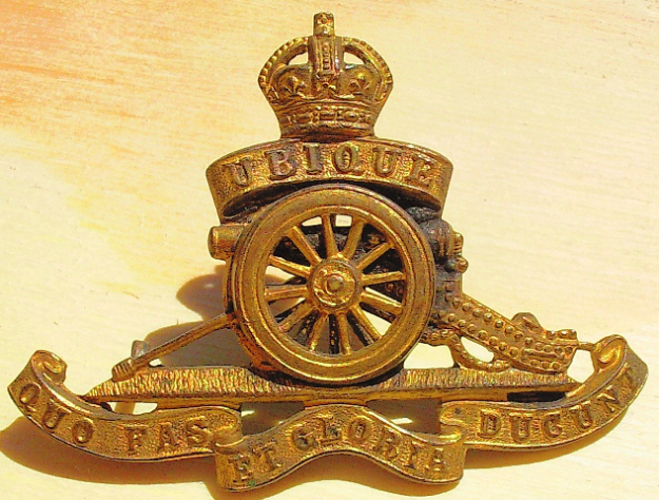 Royal Garrison Artillery badge